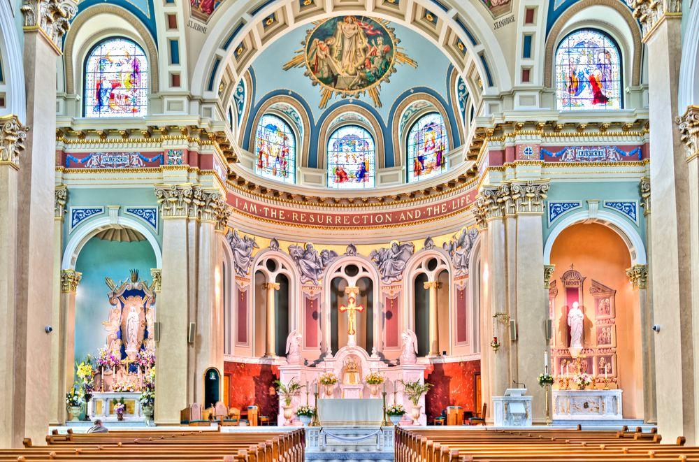Interior of Cathedral Parish of Saint Patrick