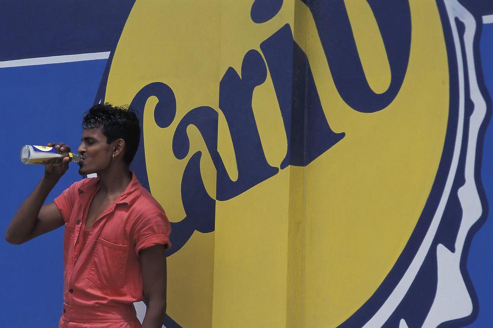 Carib beer in Trinidad and Tobago