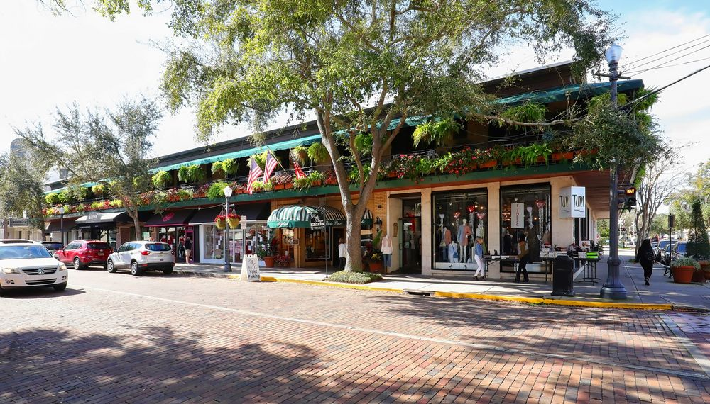 Downtown in Winter Park