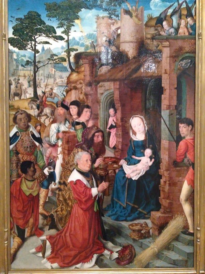 Painting at Eskenazi Museum of Art