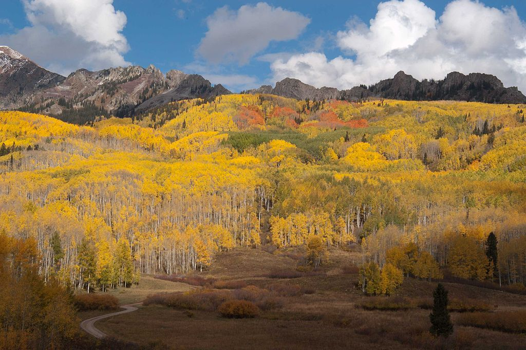 View of Kepler Pass in Crested Butte, CO