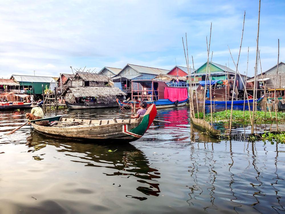 Floating Villages in Tonlé Sap Lake