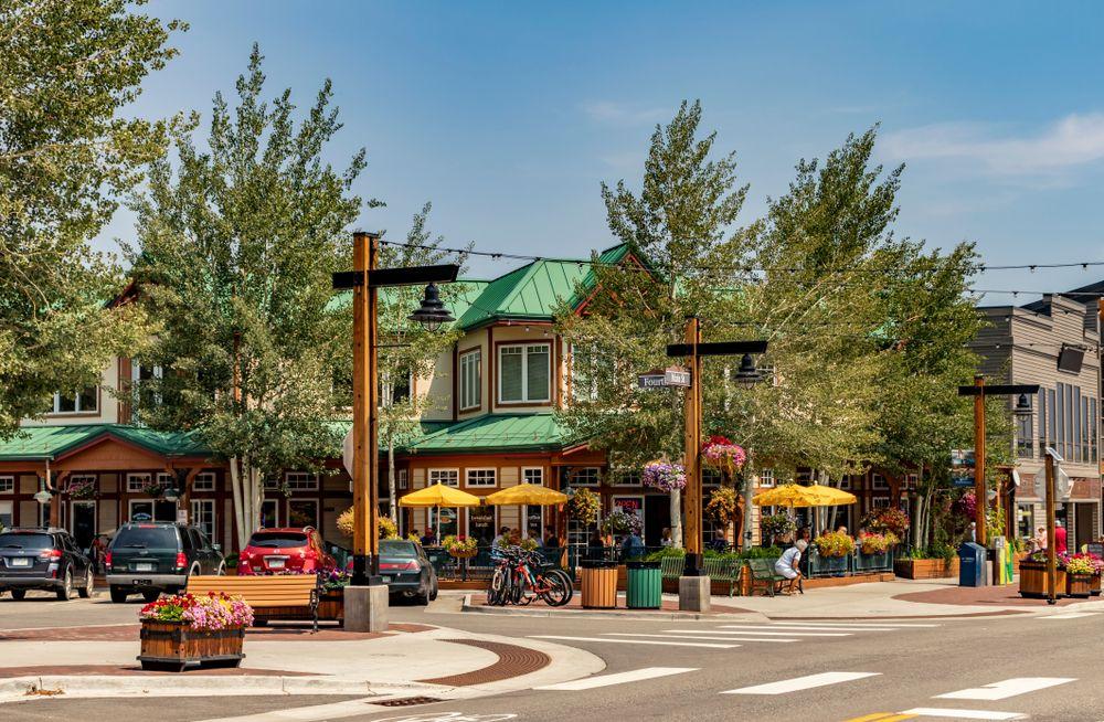 Main street in Frisco
