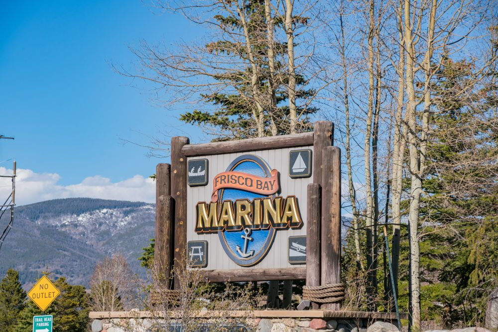 Entrance to Frisco Bay Marina