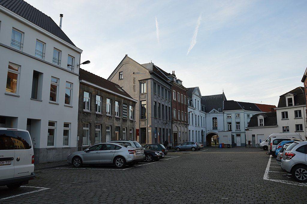 Street in Prinsenhof Gent