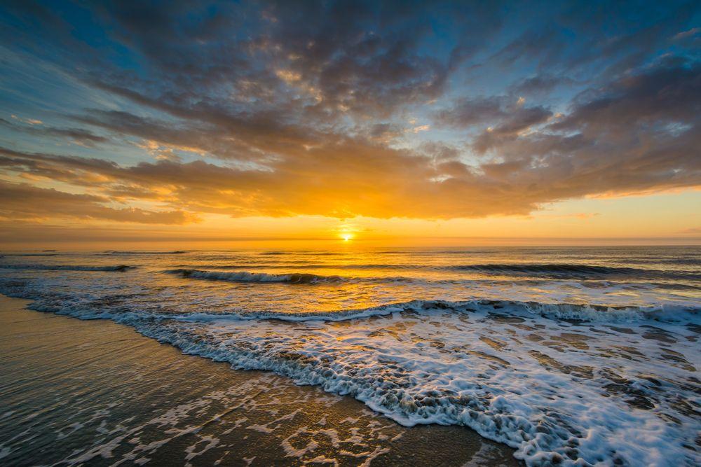 Sunrise in Isle of Palms Beach