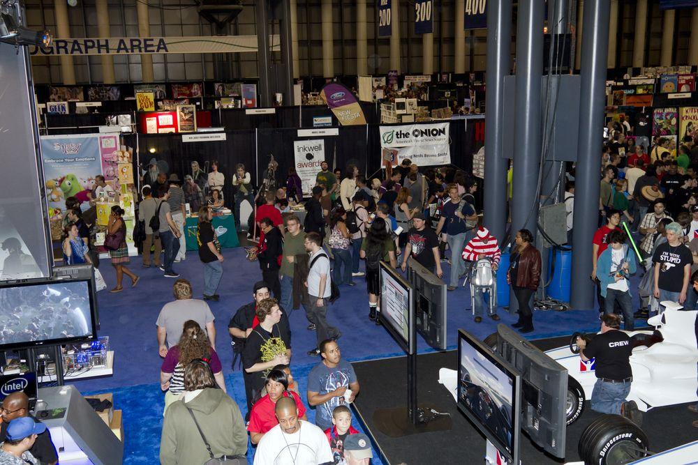 Comic Con at Javits Center