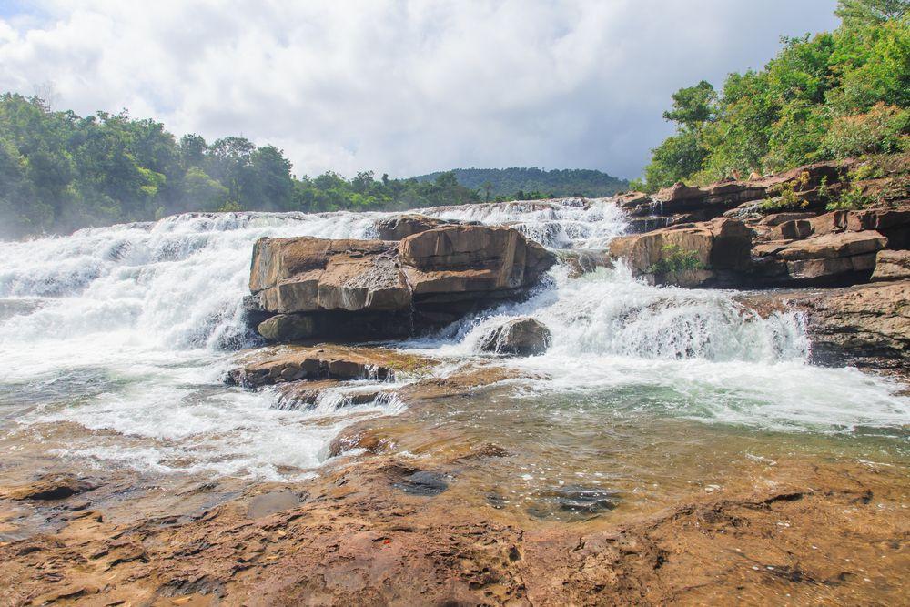 Tatai waterfalls in Koh Kong