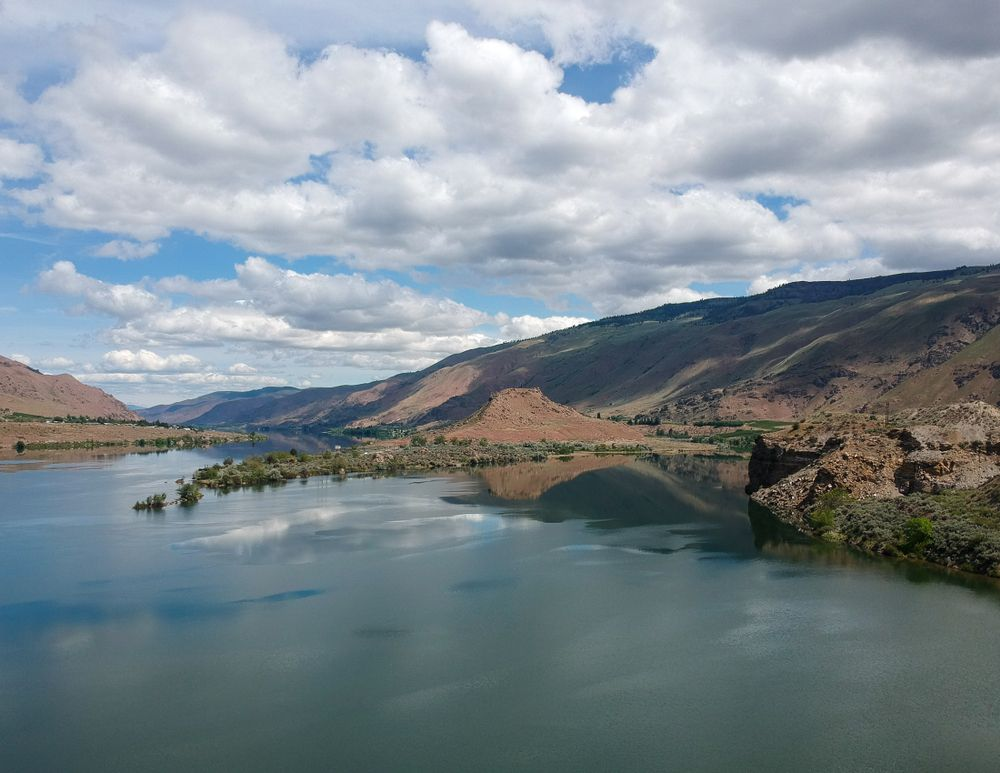 Lake entiat at Lincoln Rock State Park