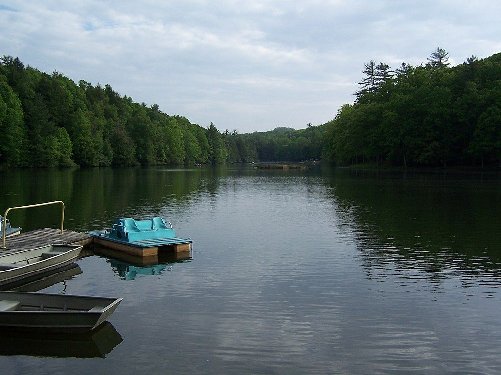 Scenic View at Little Beaver State Park