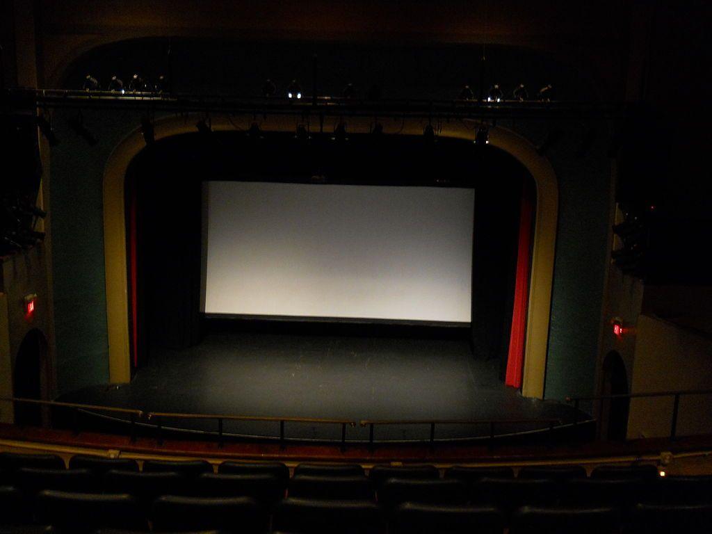Interior of Lyric Theatre