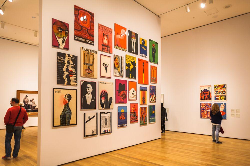 Paintings in MoMA