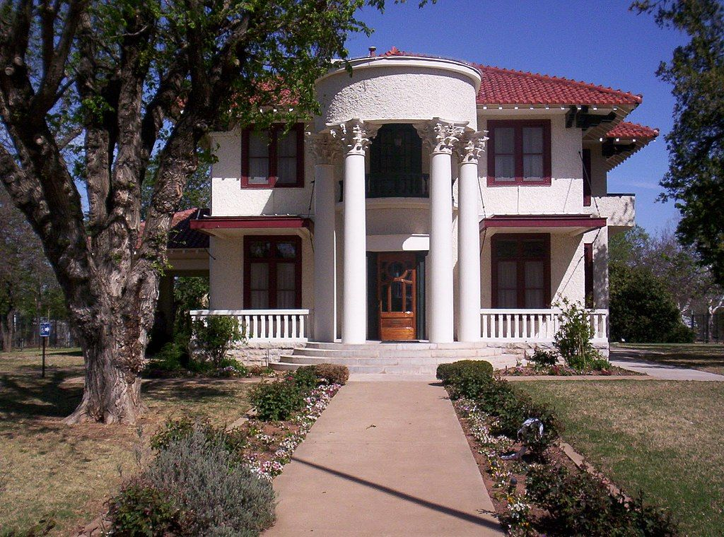 Outside View of Mattie Beal Home