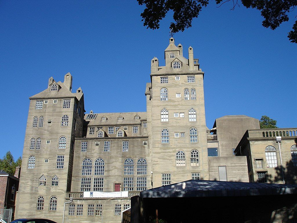 Outside View of Mercer Museum