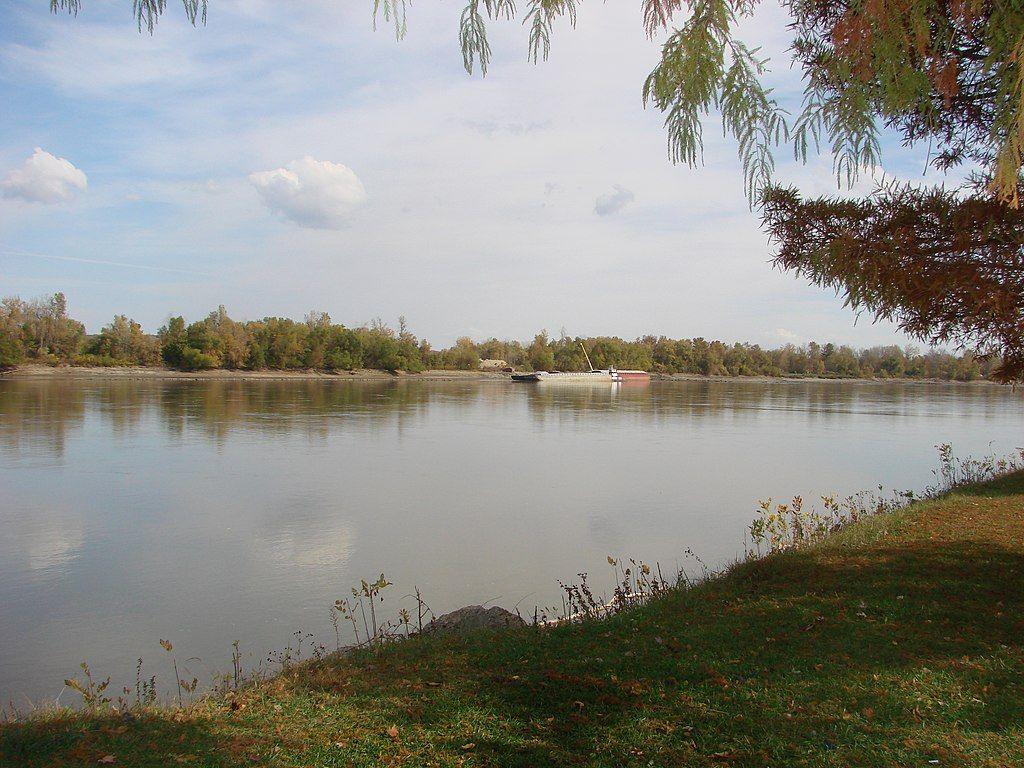 Missouri River at Hermann
