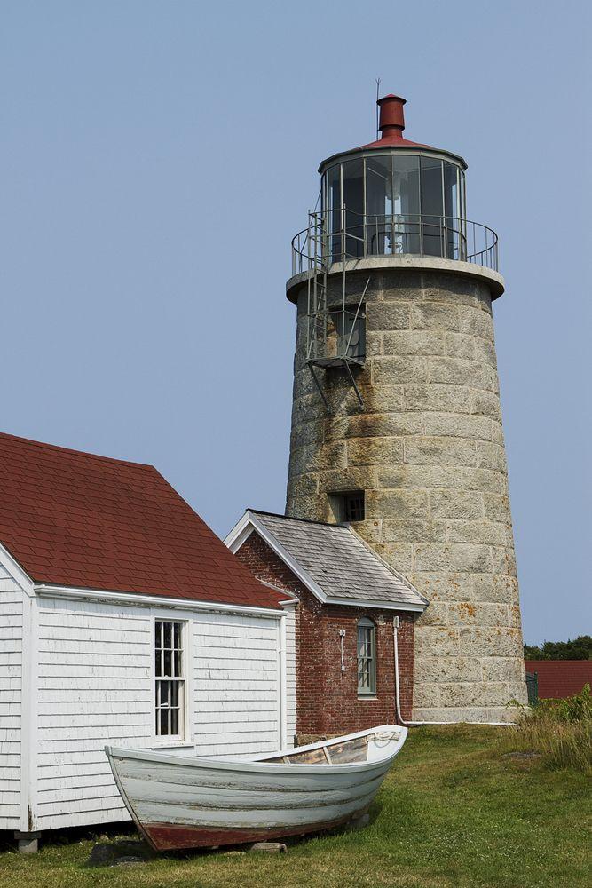 Monhegan Island lighthouse