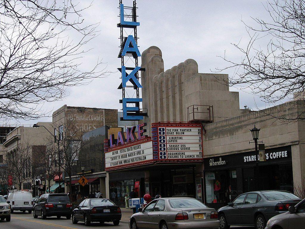 View at Lake Theater