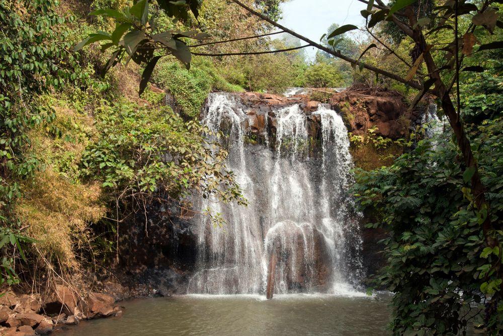 Ka Chanh waterfall at Ratanakiri