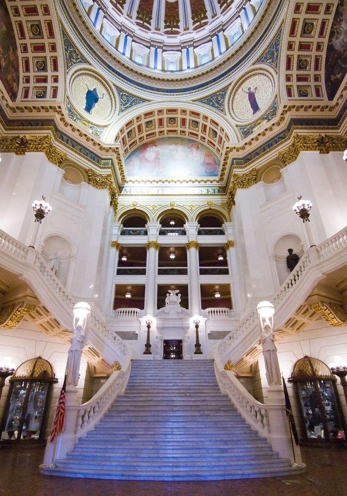 Interior of Pennsylvania State Capitol