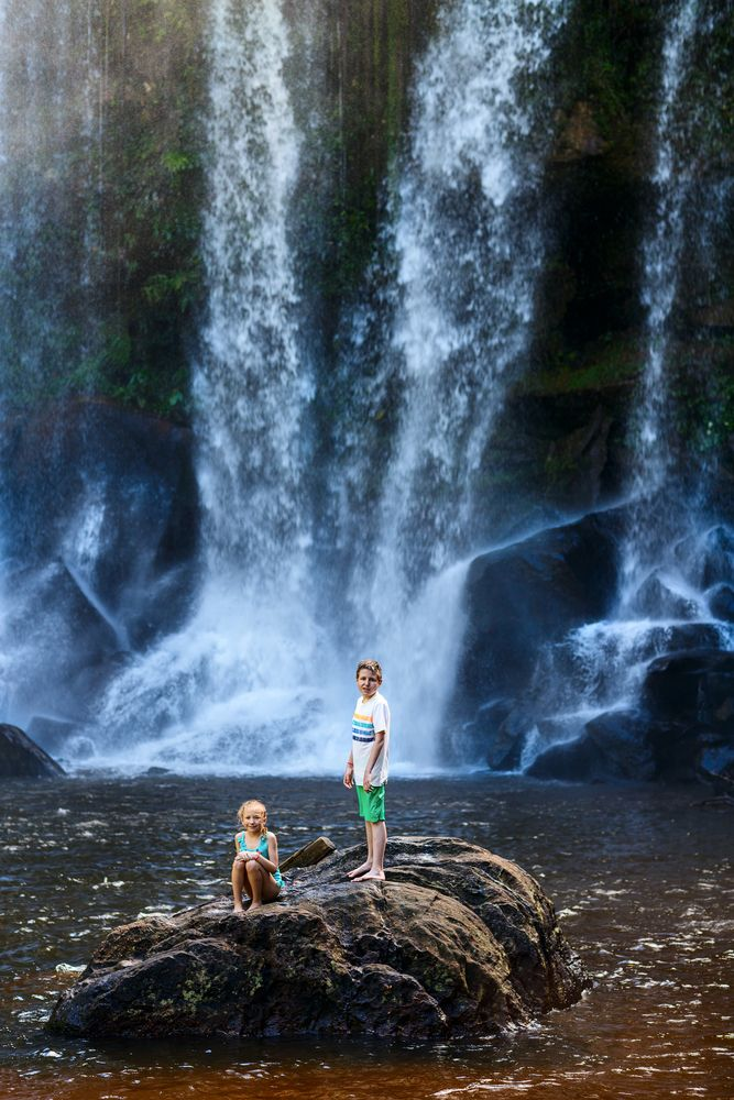 Waterfall at Phnom Kulen National Park