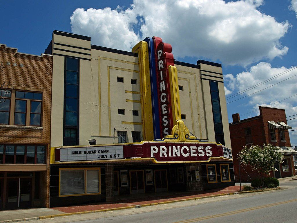 Outside View of the Princess Theatre