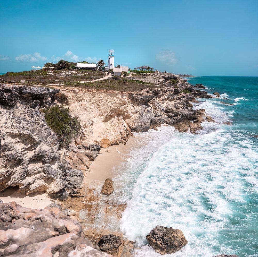 Rocks and Cliffs in Punta Sur