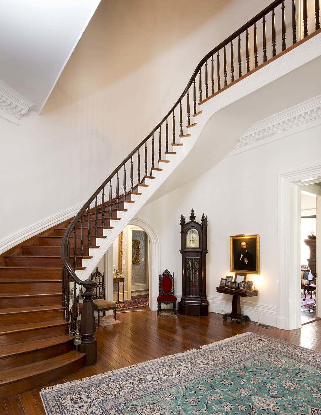 Inside Rose Hill Mansion