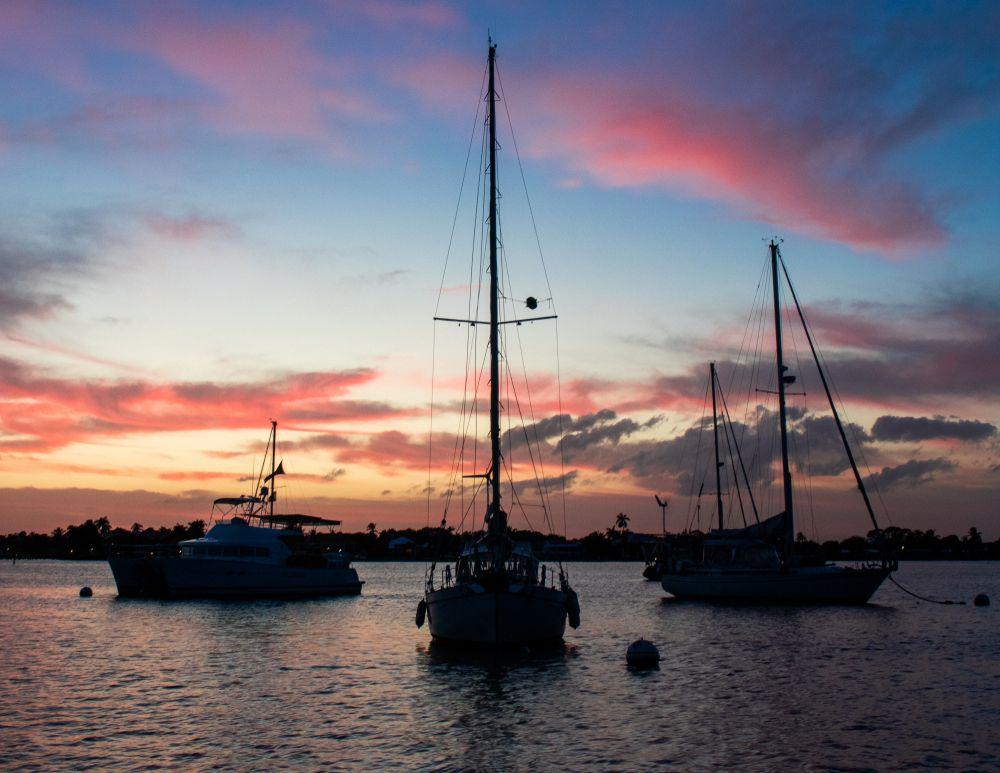 Sailboat in Stuart