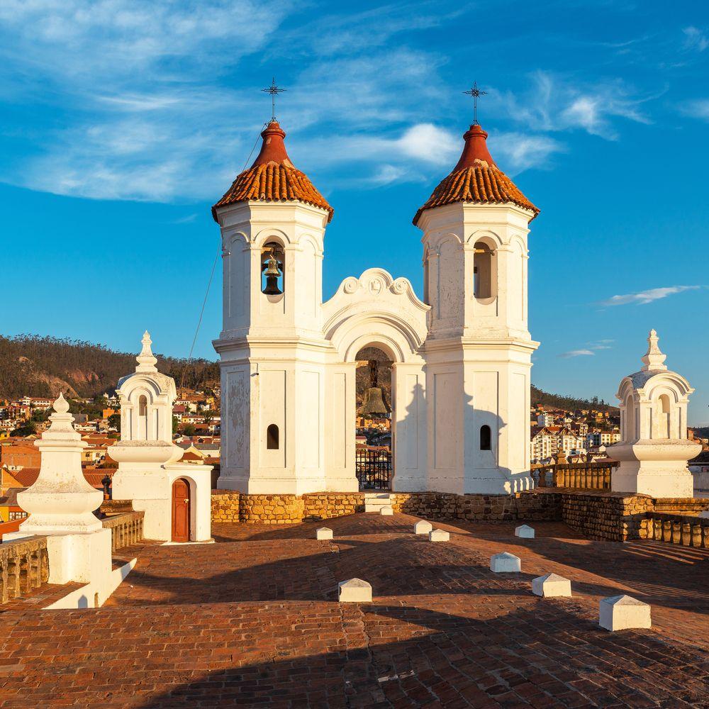 San Felipe Neri church in Sucre City