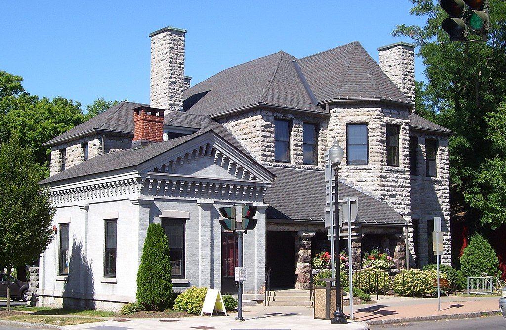 View of John D. Barrow Art Gallery