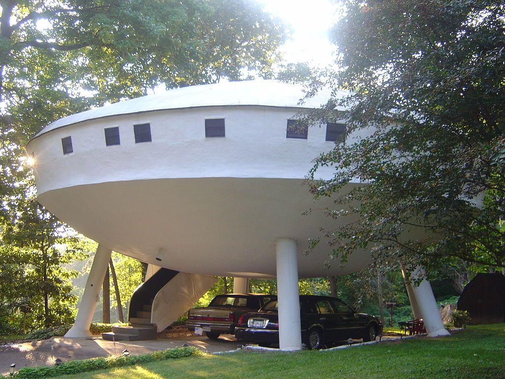 Spaceship House in Chickamauga