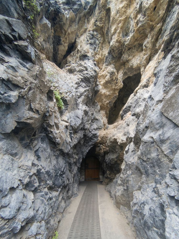 Entrance to Timpanogos Cave