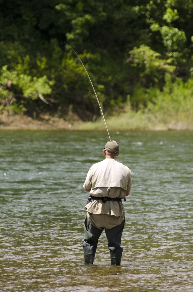 Fishing in Umpqua River