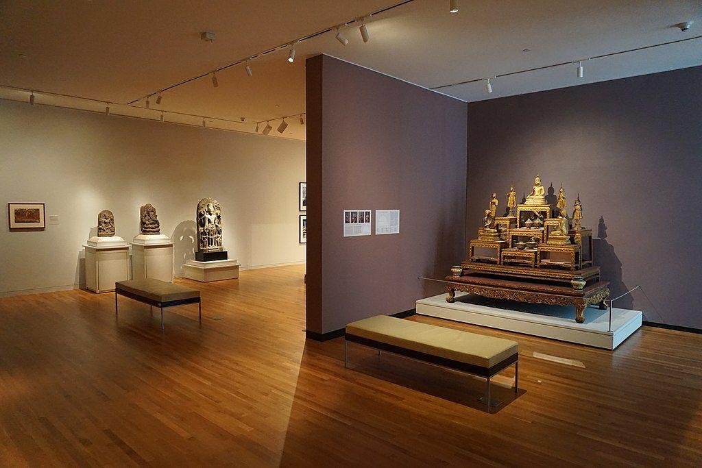 Inside University of Michigan Museum of Art in Ann Arbor,