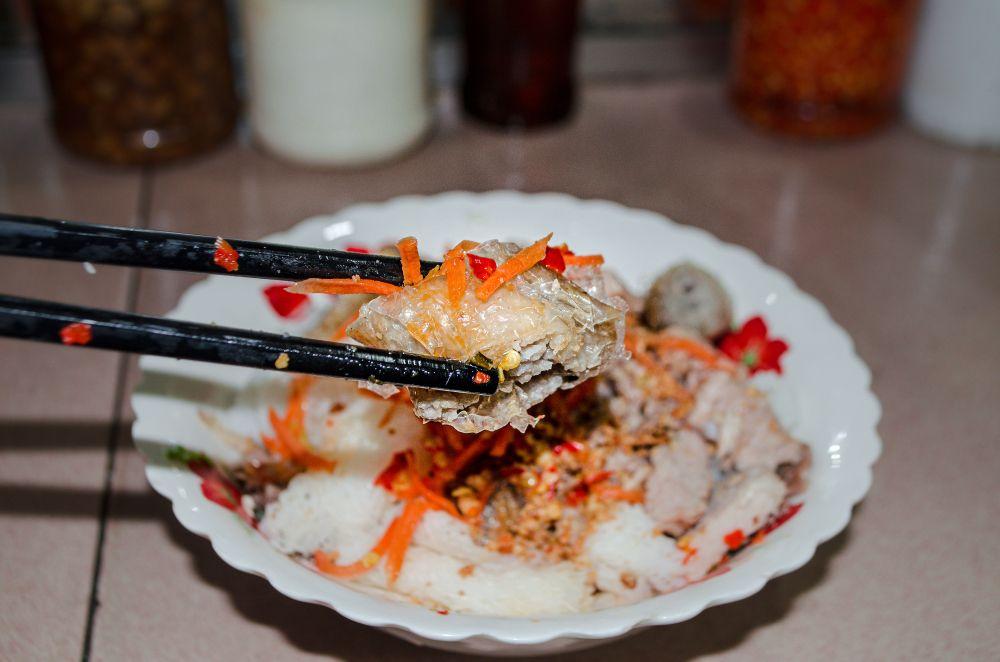 Khmer Vietnamese Noodles at Phnom Penh