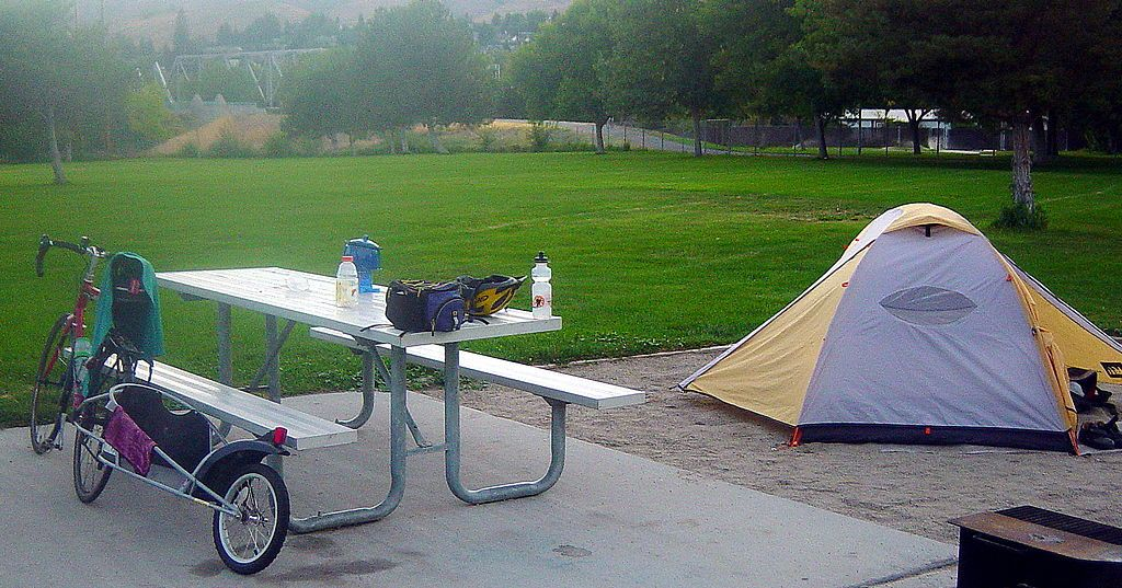 Camping at Wenatchee Confluence State Park