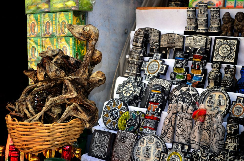 Souvenirs in Witches' Market