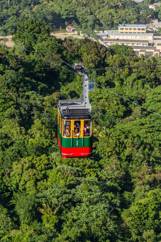 Cable car in Puerto Plata