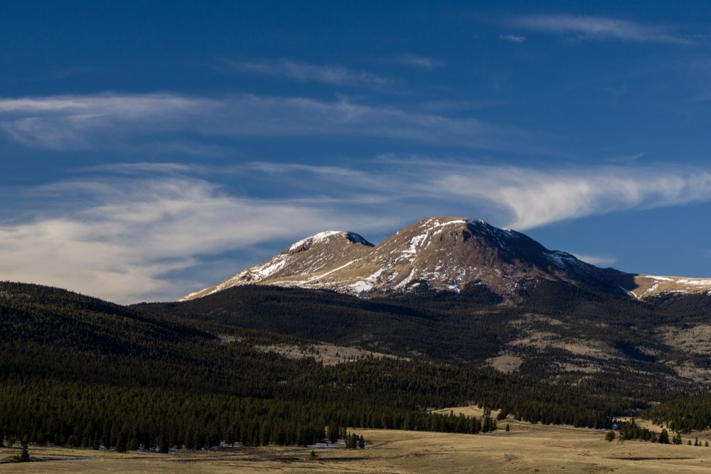 View of the Buffalo Peaks Wilderness