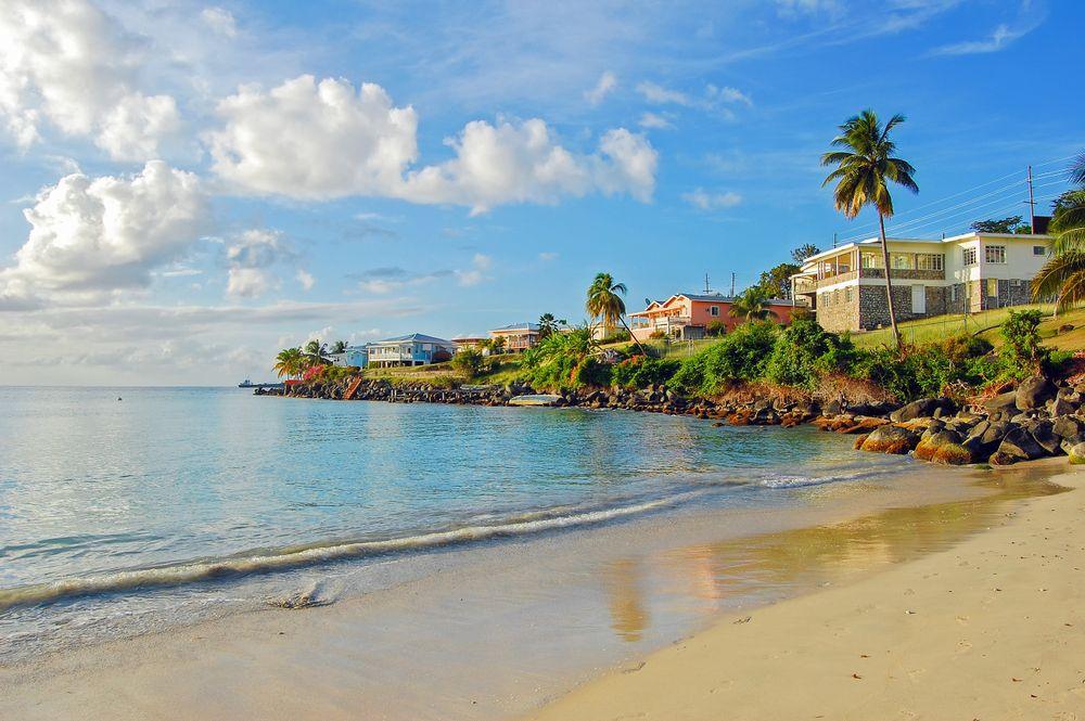 View of Grand Anse Beach