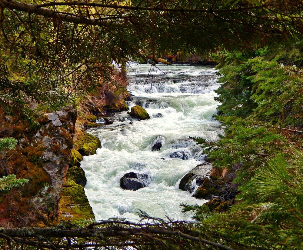 Benham Falls near Sunriver