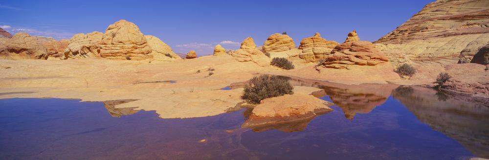 Sandstone formation in Kenab