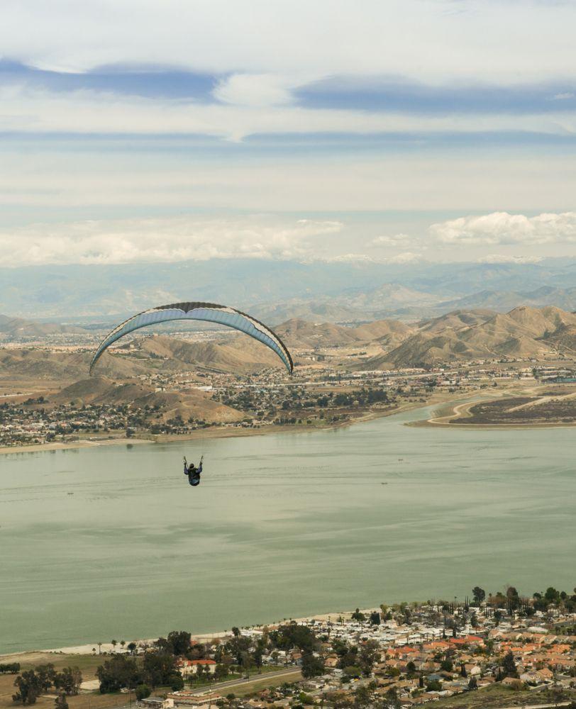 Skydiving in Elsinore