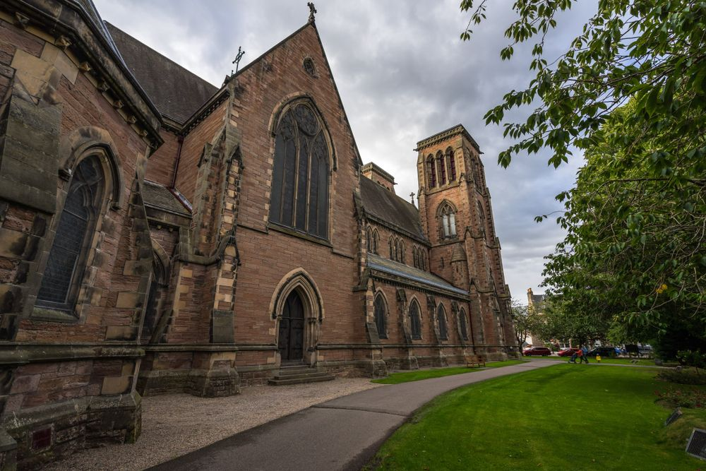 Closer View of Inverness Cathedral