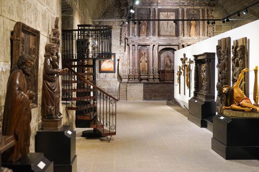 Inside San Agustin Museum