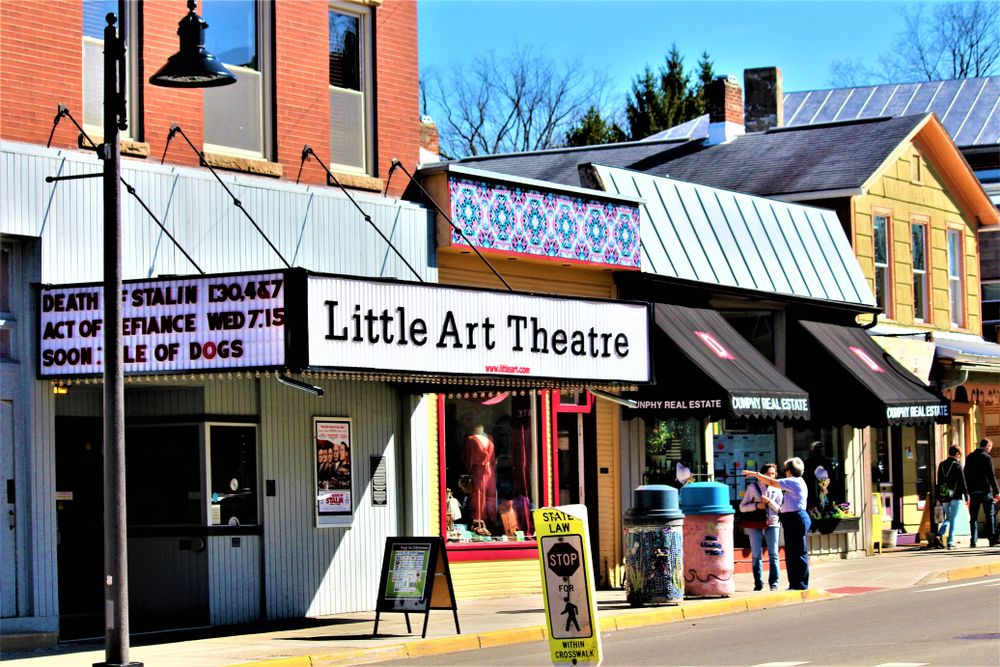 View of Little Art Theatre