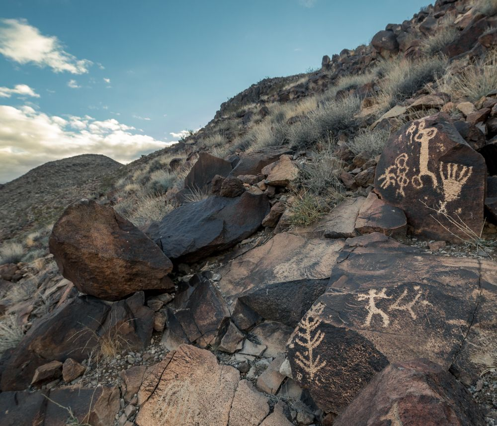Petroglyphs on Sloan Canyon Natural Conservation Area