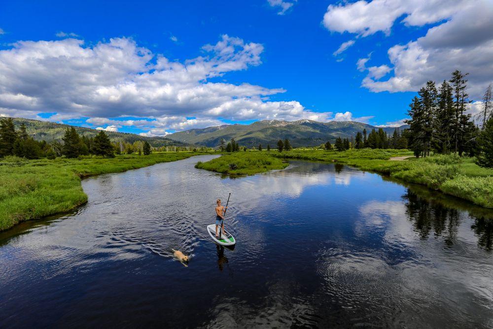 A Man in Salmon River