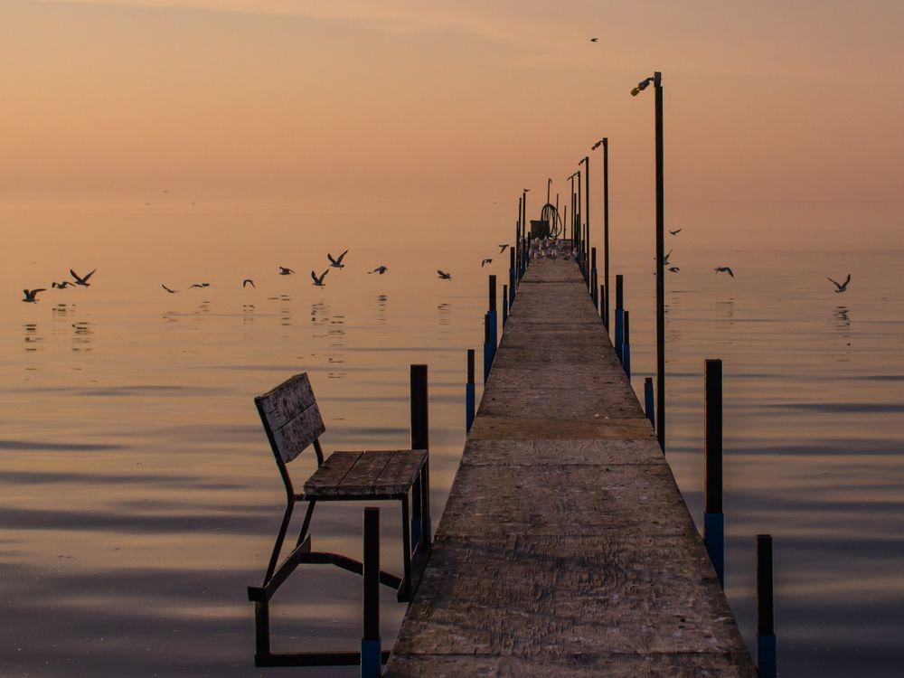Sunset at Mille Lacs Lake