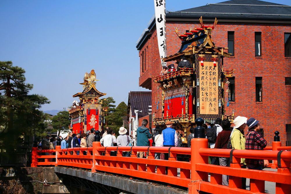 Floats in Takayama Festival